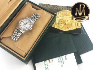 Rolex-datejust-16220-bianco-full-set