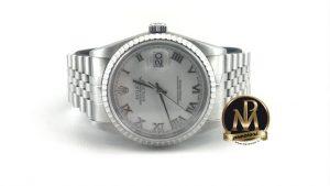 Rolex-datejust-16220-bianco-milano